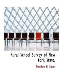 Rural School Survey of New York State.