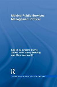 Making Public Services Management Critical