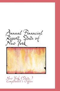 Annual Financial Report, State of New York