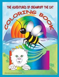 The Adventures of Creampuff the Cat: Coloring Book