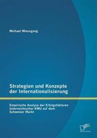 Strategien Und Konzepte Der Internationalisierung
