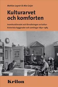 Kulturarvet och komforten : inomhusklimatet och förvaltningen av kulturhistoriska byggnader och samlingar 1850-1985