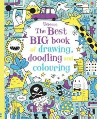 Best big book of drawing, doodling & colouring