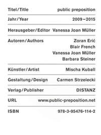 Public Preposition 2009-2015