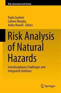 Risk Analysis of Natural Hazards