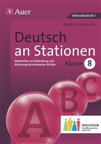 Deutsch an Stationen 8 Inklusion