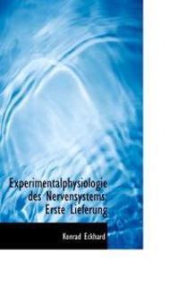 Experimentalphysiologie Des Nervensystems