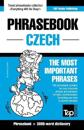 English-Czech Phrasebook and 3000-Word Topical Vocabulary