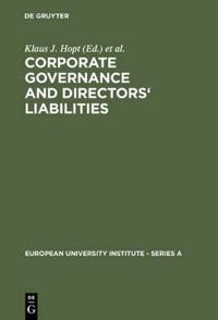 Corporate Governance and Directors' Liability