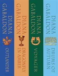 Outlander Series Bundle: Books 1, 2, 3, and 4