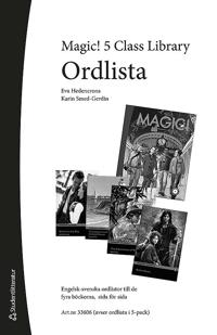 Magic! 5 Class Library Ordlista (5-pack)