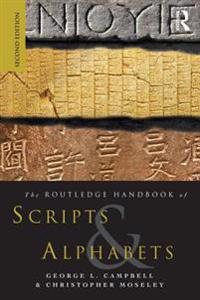 Routledge Handbook of Scripts and Alphabets