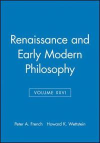 Renaissance and Early Modern Philosophy