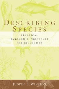 Describing Species