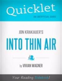 Quicklet on Jon Krakauer's Into Thin Air (CliffsNotes-like Book Summary)