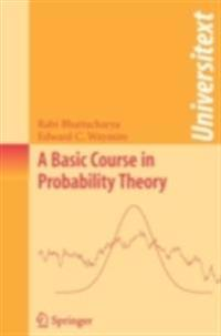 Basic Course in Probability Theory