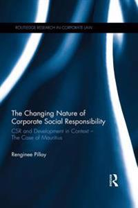 Changing Nature of Corporate Social Responsibility