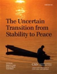 Uncertain Transition from Stability to Peace