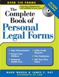 Complete Book of Personal Legal Forms
