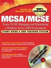 MCSA/MCSE Managing and Maintaining a Windows Server 2003 Environment (Exam 70-290)