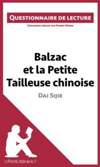 Balzac et la Petite Tailleuse chinoise de Dai Sijie