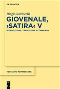 Giovenale, Satira V