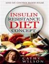 Insulin Resistance Diet Concept: Lose Fat Control Blood Sugar