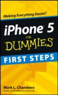 iPhone 5 First Steps For Dummies