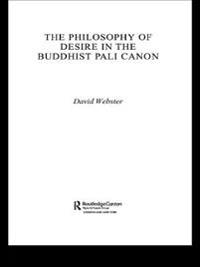 Philosophy of Desire in the Buddhist Pali Canon