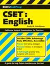 CliffsTestPrep CSET: English