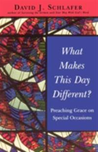 What Makes This Day Different?