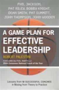 Game Plan for Effective Leadership