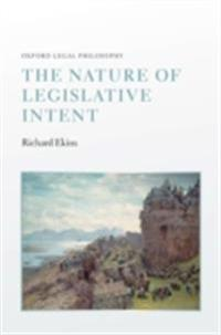 Nature of Legislative Intent