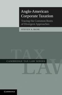 Anglo-American Corporate Taxation