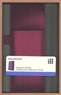 Moleskine Tool Belt, Large, Mauve Purple