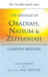 Message of Obadiah, NahumZephaniah