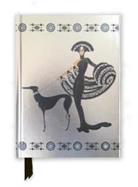 Erté Symphony in Black Foiled Journal