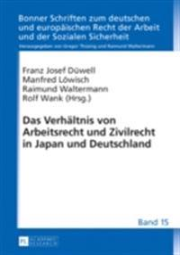 Das Verhaltnis von Arbeitsrecht und Zivilrecht in Japan und Deutschland