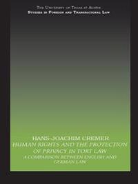 Human Rights and the Protection of Privacy in Tort Law