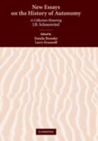 New Essays on the History of Autonomy