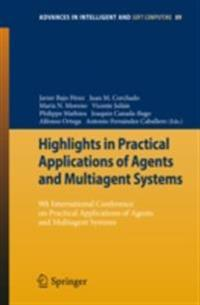 Highlights in Practical Applications of Agents and Multiagent Systems