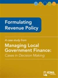 Formulating Revenue Policy