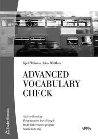 Advanced Vocabulary Check (10-pack) - Engelska 6