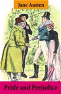 Pride and Prejudice (Unabridged with the original watercolor illustrations by C.E. Brock)