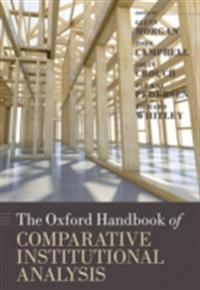 Oxford Handbook of Comparative Institutional Analysis