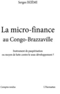 La micro-finance au congo-brazzaville - instrument de paupAc