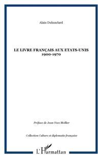 Livre francais aux etats-unis1900-1970