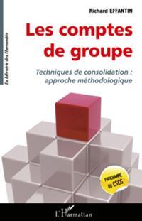 Les comptes de groupe - techniques de consolidation : approc