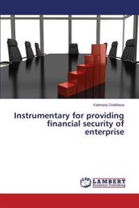 Instrumentary for Providing Financial Security of Enterprise