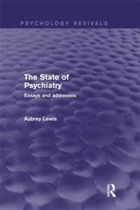 State of Psychiatry (Psychology Revivals)